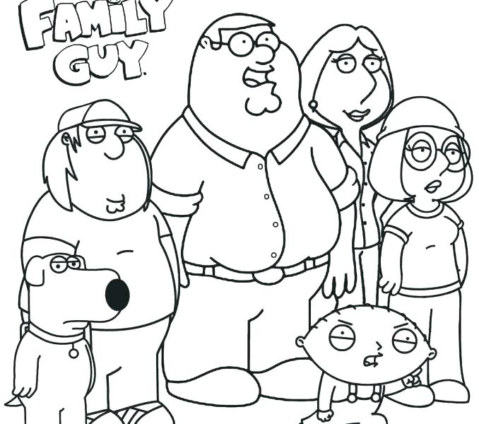 678x600 Family Guy Stewie Coloring Pages Kids Coloring Family Guy Coloring