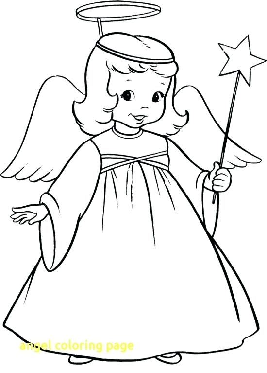 550x767 Precious Moments Angels Coloring Pages Angel Coloring Page