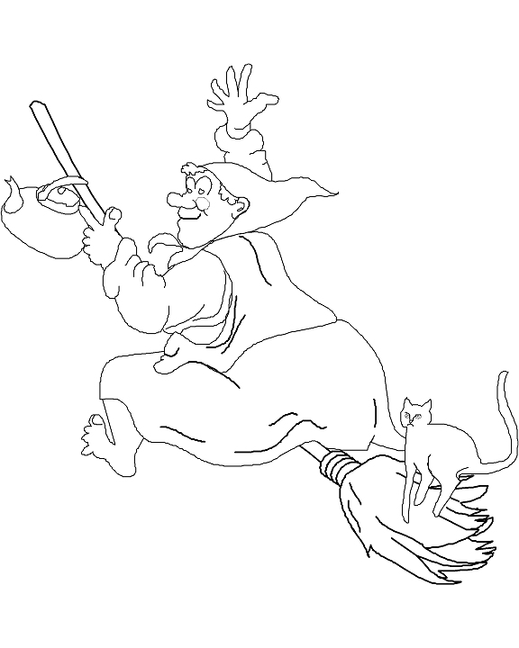 576x720 Halloween Coloring Pages, Puzzles And Jokes For Kids
