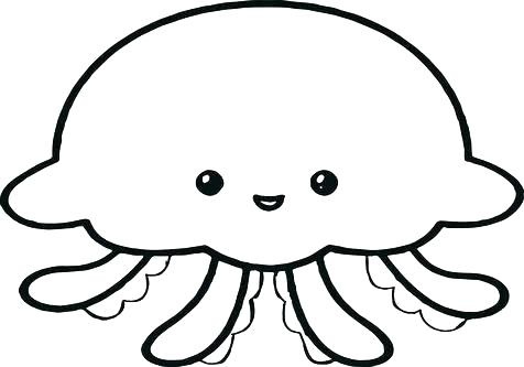 476x333 Stingray Coloring Pages Stingray Coloring Page Fresh Jellyfish