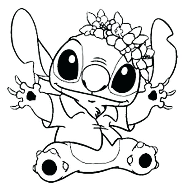 Stitch And Angel Coloring Pages At Getdrawings Free Download