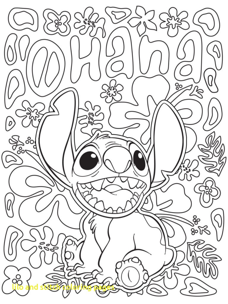 768x1024 Lilo And Stitch Coloring Pages With Lilo And Stitch Coloring Pages