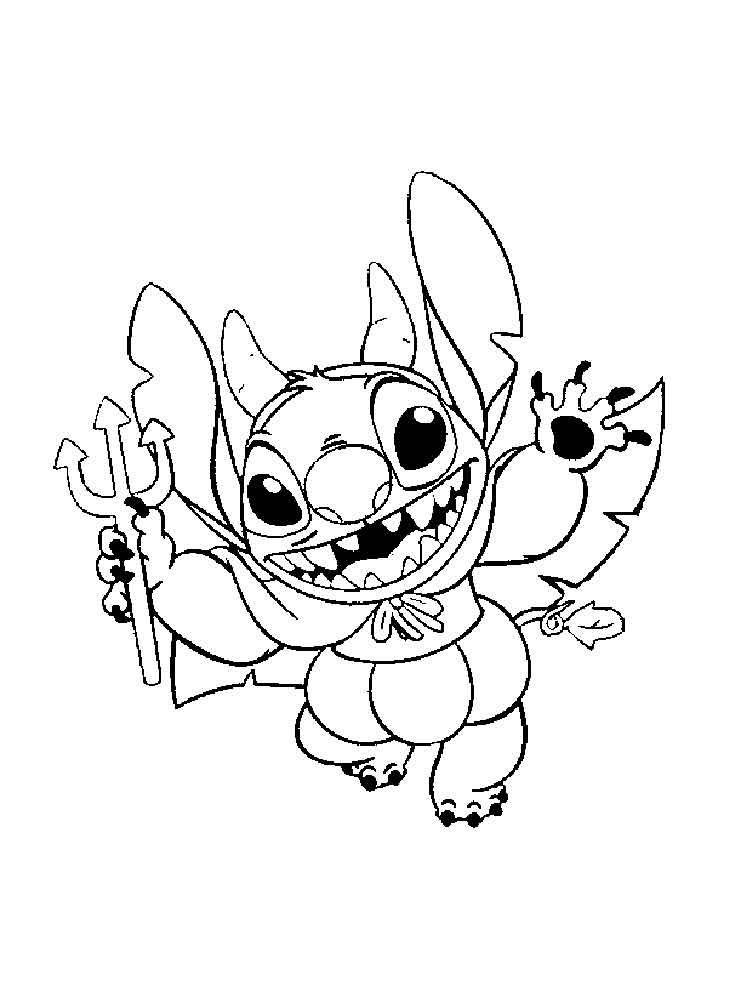 750x1000 Lilo And Stitch Coloring Pages Download And Print Lilo And Stitch