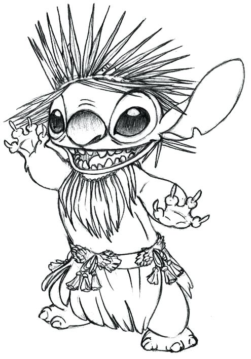 495x709 Stitch Coloring Pages Happy Stitch Coloring Pages Stitch Halloween