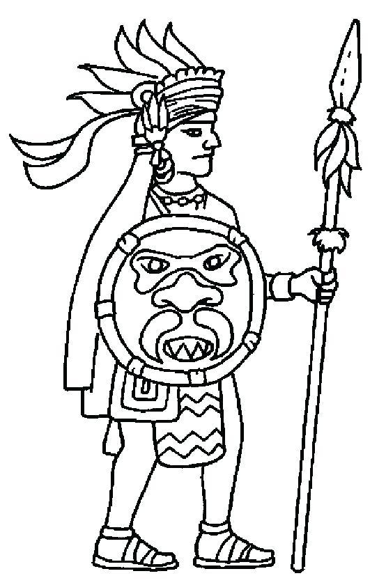 554x840 Aztec Calendar Coloring Page Coloring Pages Calendar Stone
