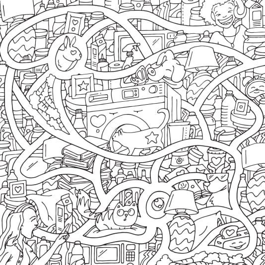Stoner Coloring Pages