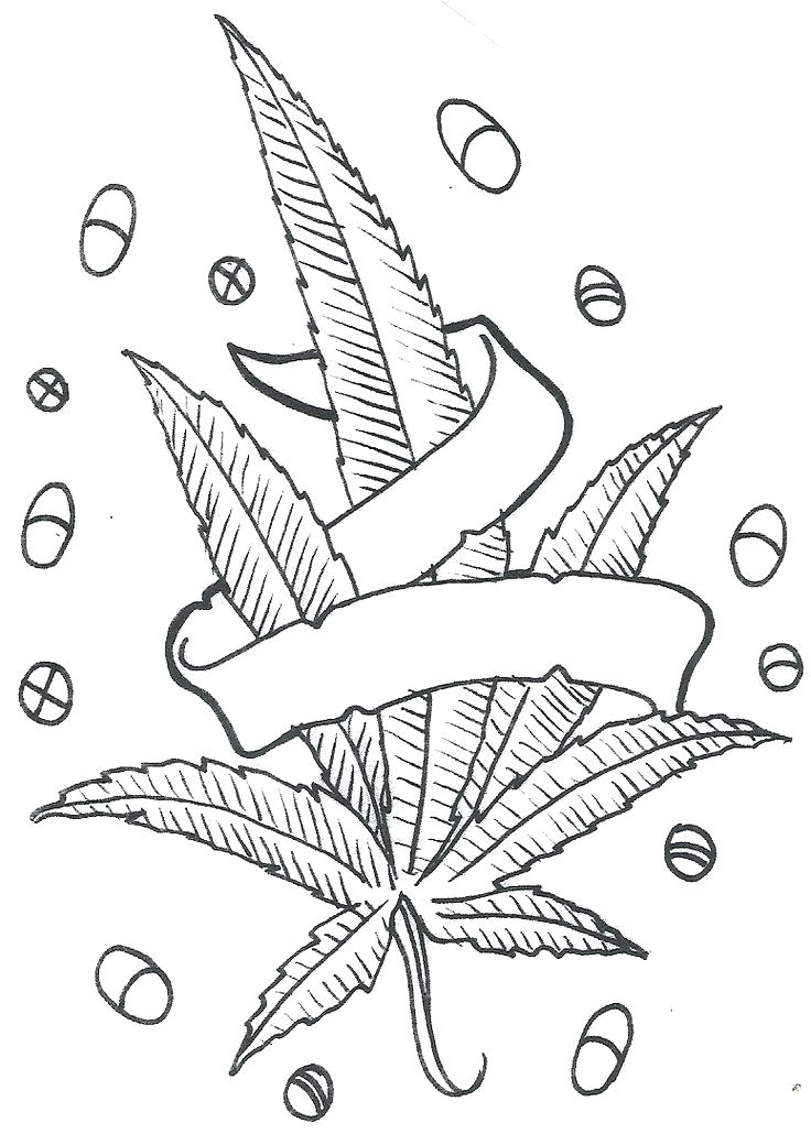 736x1040 Pot Leaf Coloring Pages Stoner Coloring Pages Weed Leaf Coloring