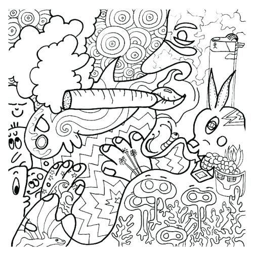 500x500 Weeder Coloring Pages Me Darl Stoner Coloring Pages Printable