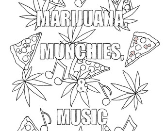 Stoner Coloring Pages At Getdrawings Com Free For Personal Use