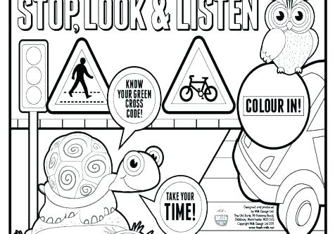 476x333 Stop Light Coloring Page Traffic Signs Coloring Pages Simple Fun