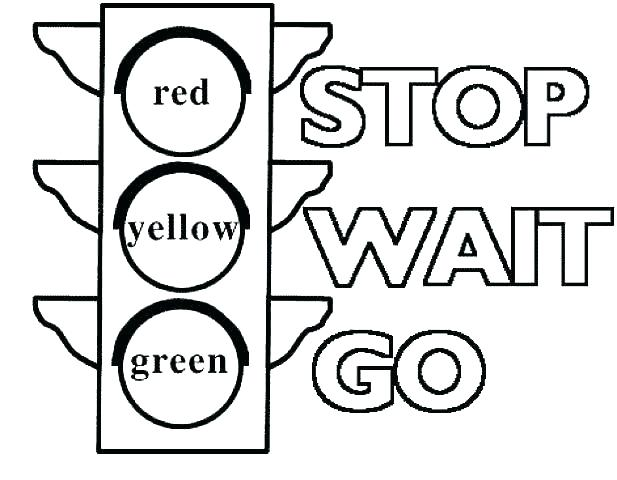 617x480 Stop Sign Coloring Page Free Printable Stop Sign Coloring Page