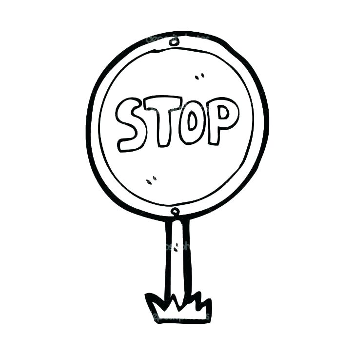 728x728 Stop Sign Coloring Stop Sign Coloring Page Printable Traffic Light