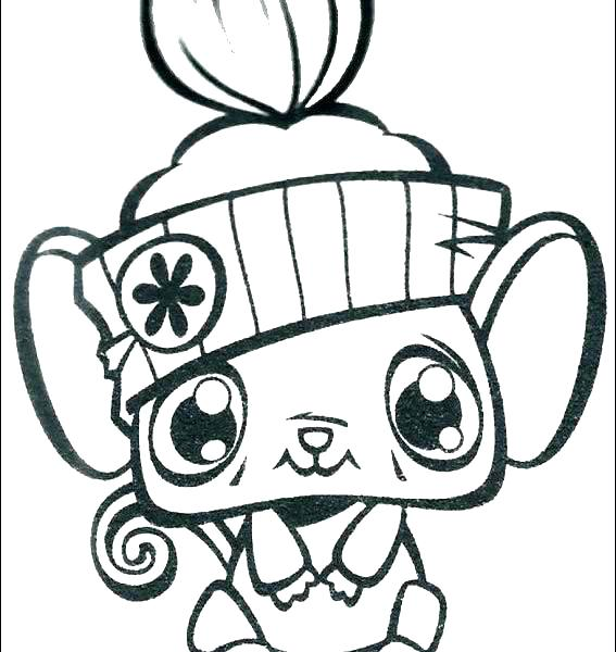 567x600 Store Coloring Page Coloring Pages Littlest Pet Shop Coloring