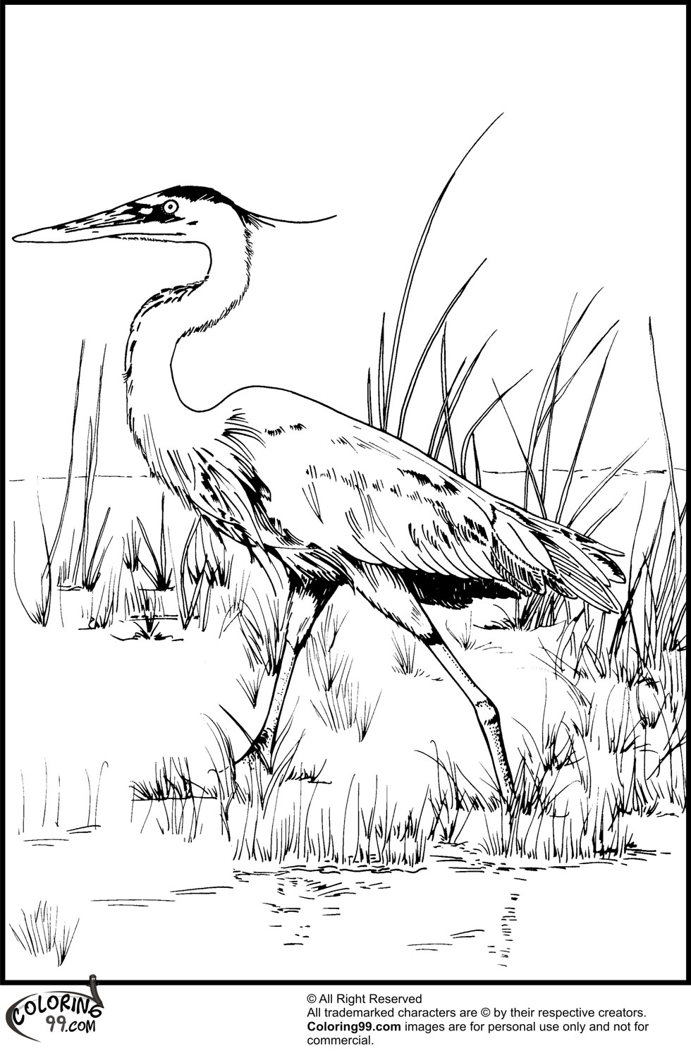 980x1500 Stork Coloring Pages Minister Coloring