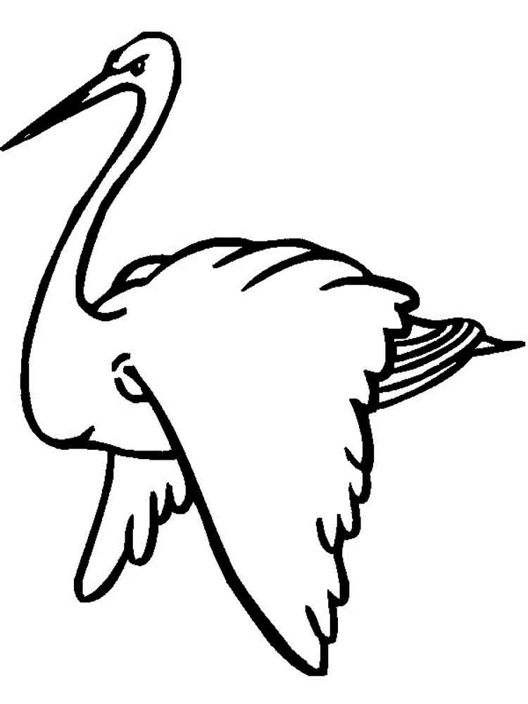 750x1000 Stork Coloring Pages Download And Print Stork Coloring Pages