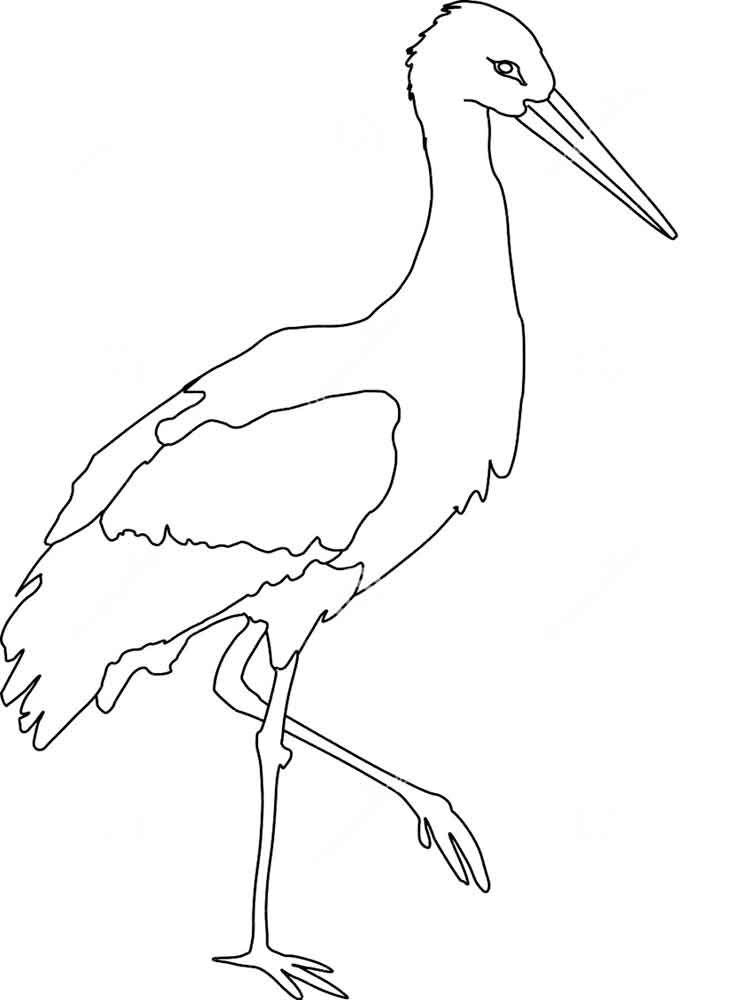 750x1000 Coloring Pages Awesome Stork Coloring Pages Download And Print