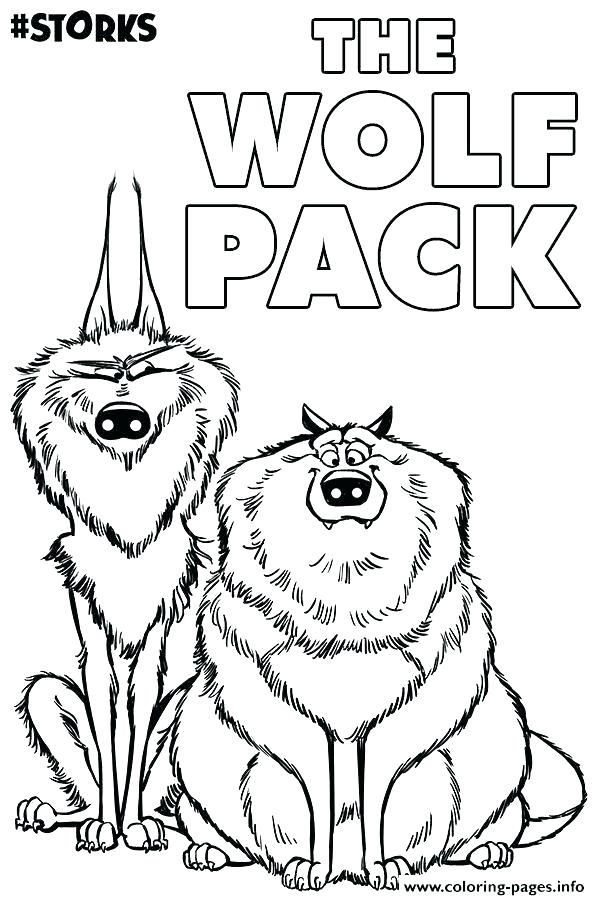 600x900 Lego Movie Coloring Pages Movie Coloring Pages The Wolf Pack
