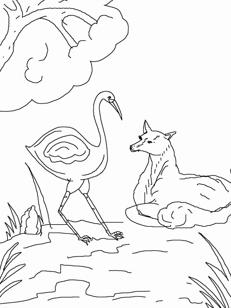 750x1000 Storks Coloring Pages Collection Storks Coloring Pages Coloring