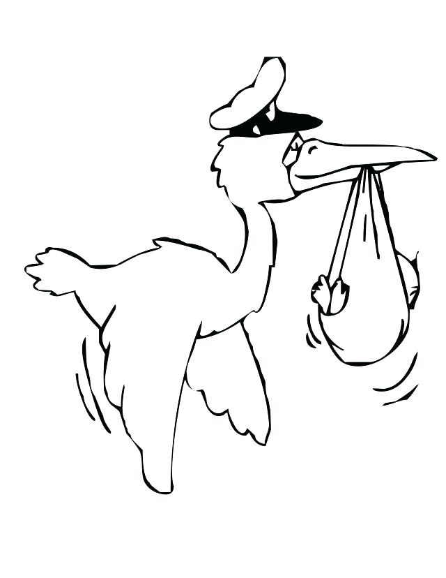 640x828 Chickadee Coloring Page Trend Stork Coloring Pages Image Cartoon