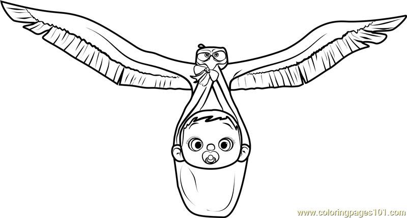 800x429 Junior With Baby Coloring Page
