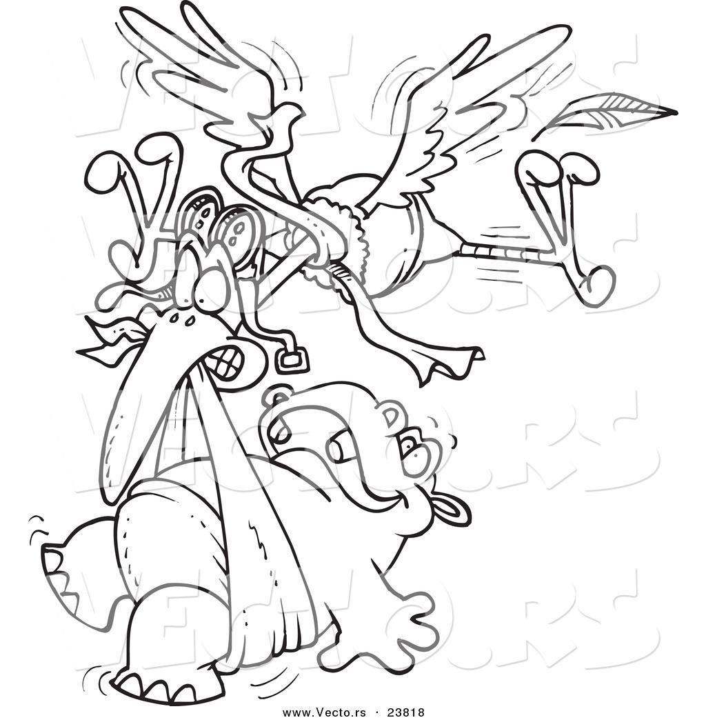 1024x1044 Unique Storks Coloring Pages Stork Free