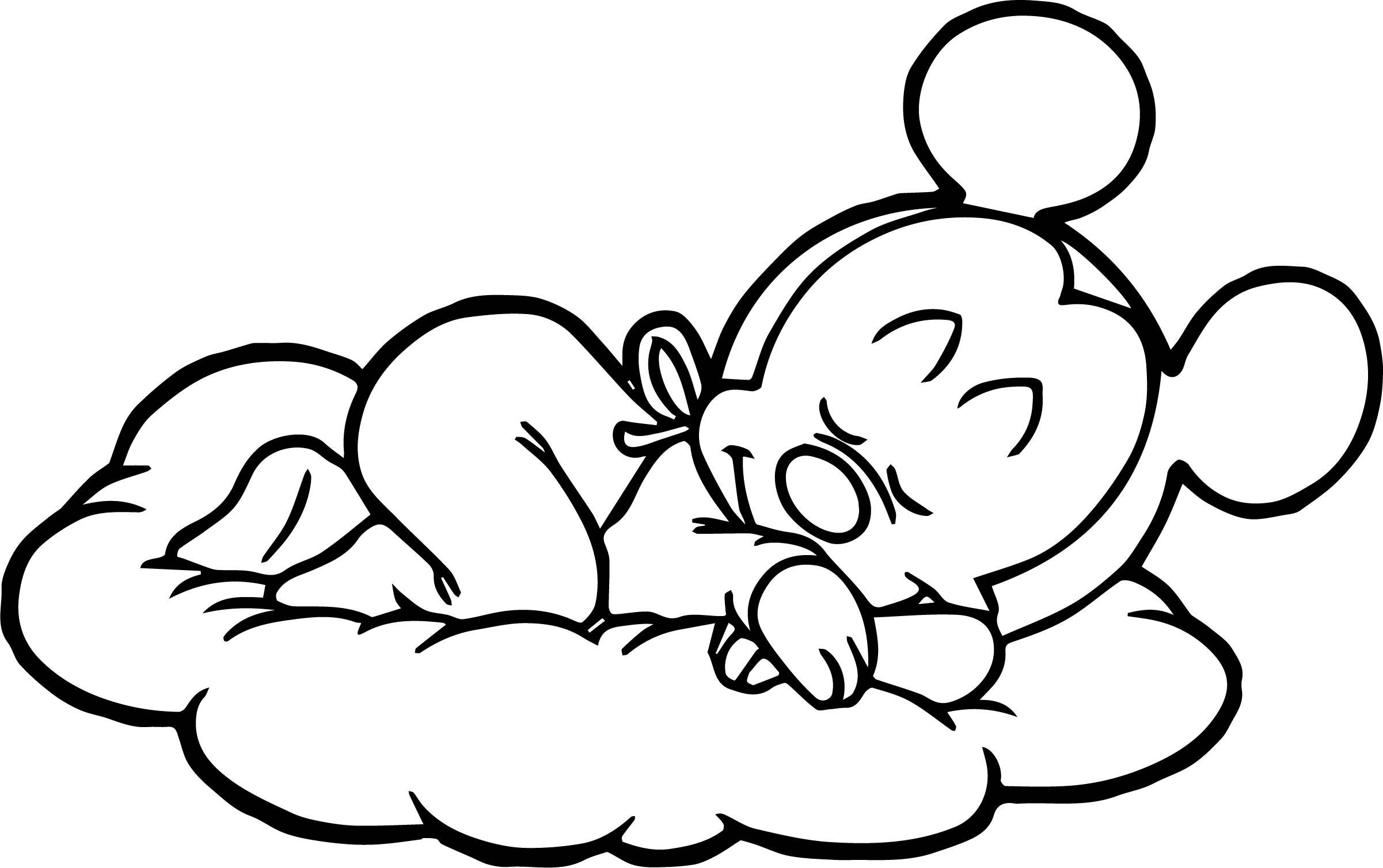 Storm Cloud Coloring Pages