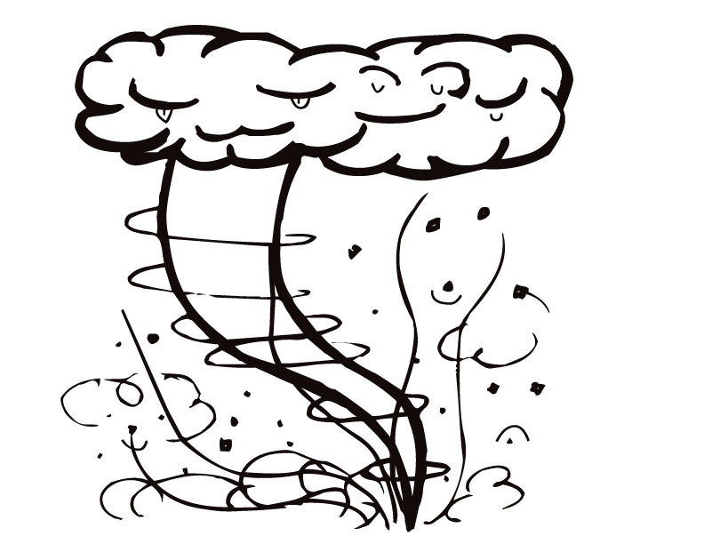 810x630 Storm Coloring Pages Printable Storm Coloring Page