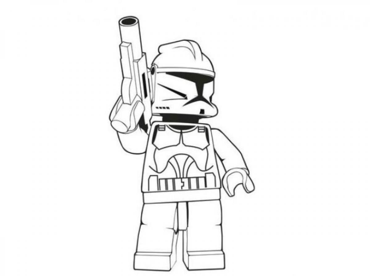 1200x894 Selected Stormtrooper Coloring Pages Printable Lego Star Wars