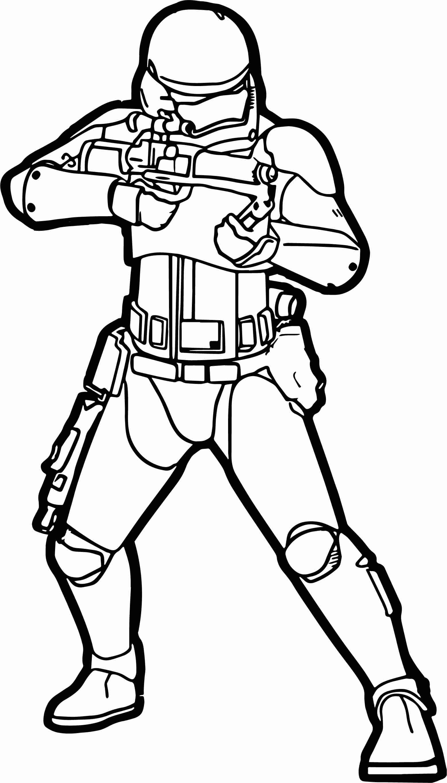 1558x2731 Star Wars Stormtrooper Coloring Pages Printable Simple