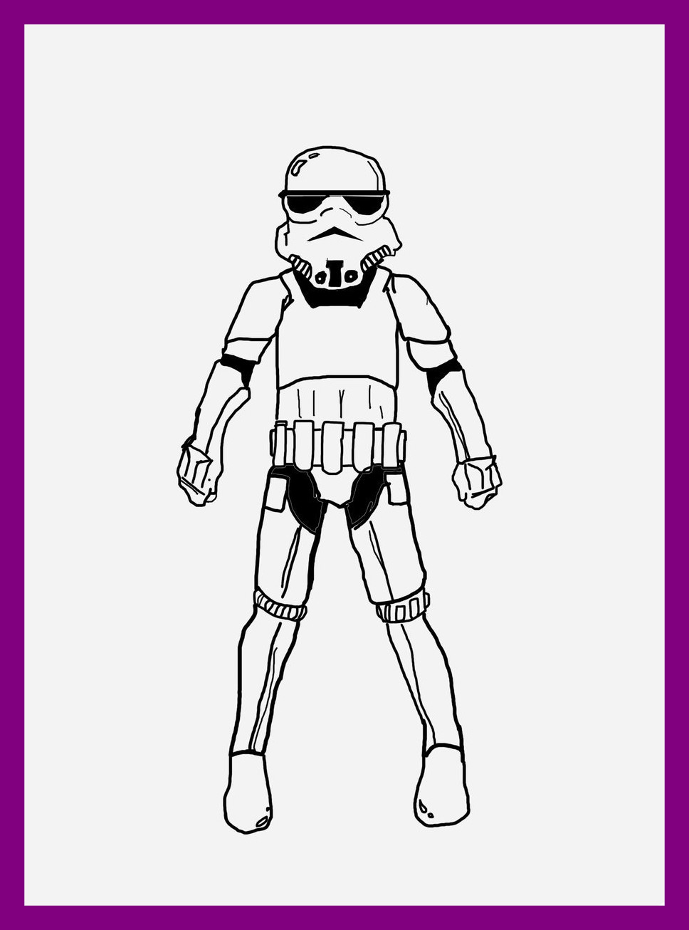 968x1306 Best Clone Trooper Coloring Part Of Stormtrooper Pig Page Popular