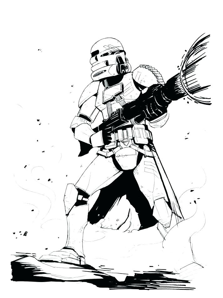 713x950 Clone Coloring Pages Star Wars Clone Trooper Coloring Pages