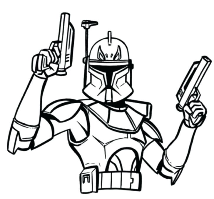 728x676 Stormtrooper Coloring Pages Coloring Pages For Kids Star Wars
