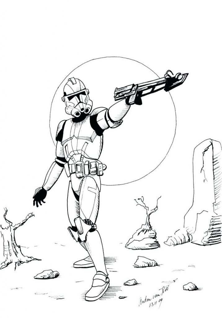 716x1024 Imposing Decoration Stormtrooper Coloring Page Stormtrooper