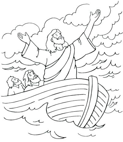 400x461 Storm Coloring Pages Calms The Storm Coloring Page Lego