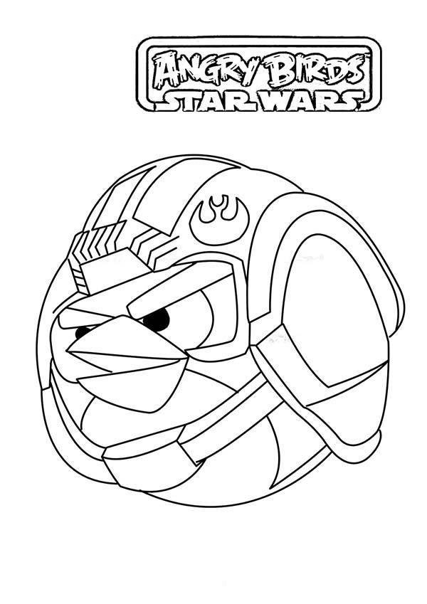 600x849 Angry Birds Star Wars The Stormtrooper Coloring Pages Batch Coloring