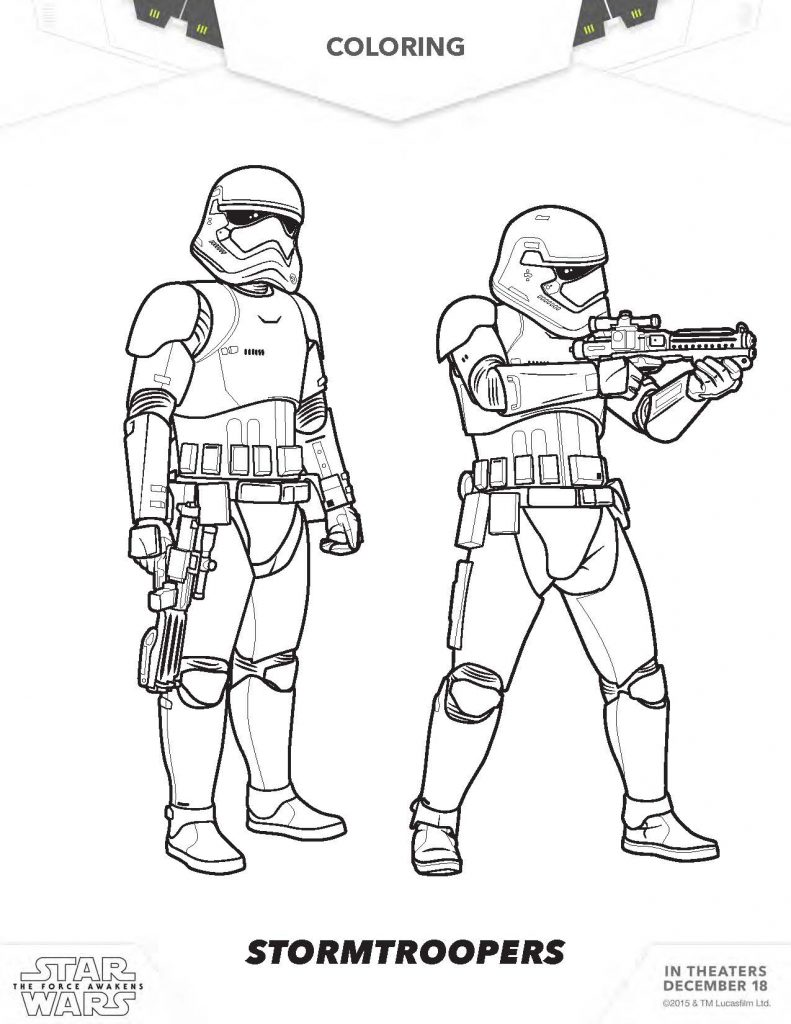 791x1024 Manificent Decoration Stormtrooper Coloring Page Star Wars