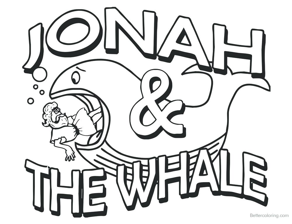 1000x768 Jonah Coloring Pages Download This Coloring Page Jonah