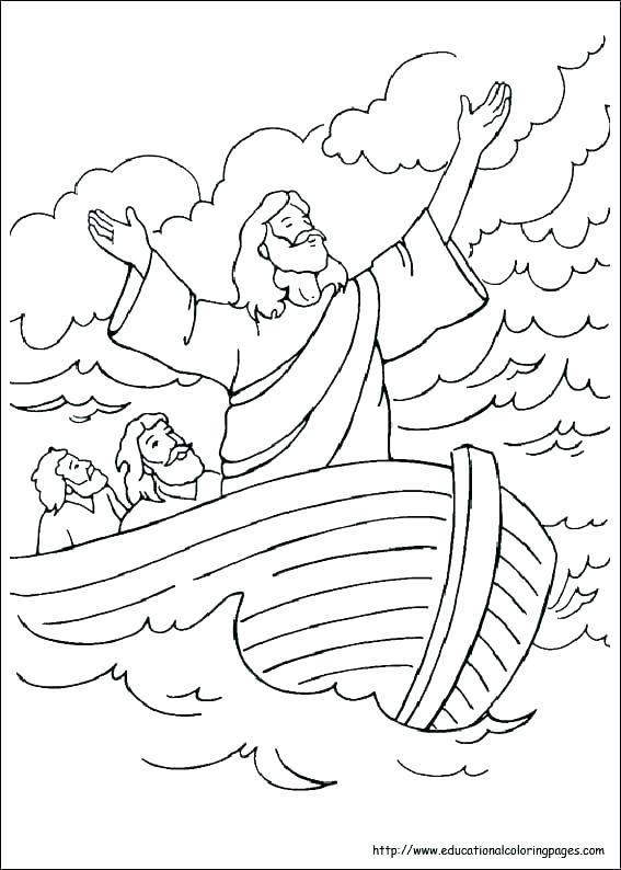 567x794 Marvelous Free Bible Story Coloring Pages Printable In Pretty Free