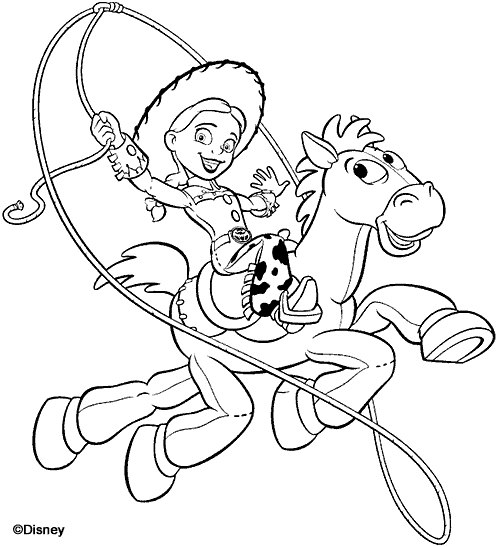 496x547 Toy Story Coloring Pages + Toy Story Of Terror
