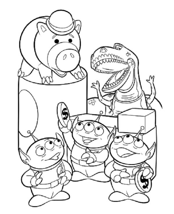 600x738 Toy Story Coloring Pages Coloring Pages For Kids
