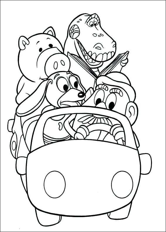 567x794 Story Coloring Pages