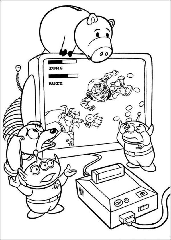 600x840 Toy Story Coloring Pages