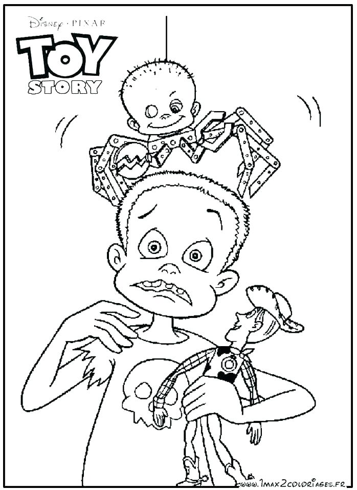 698x957 Toy Story Coloring Pages To Print