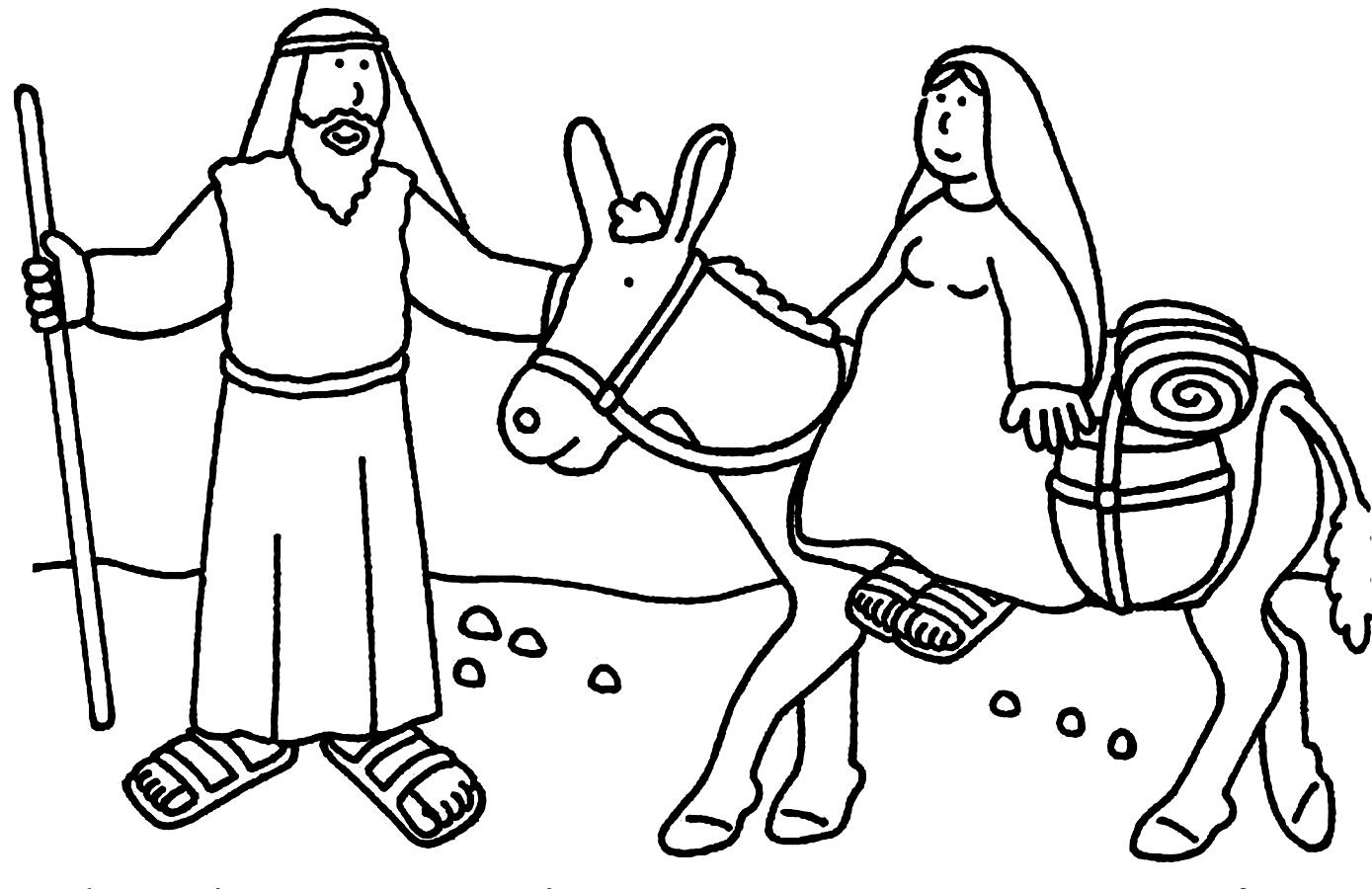 1389x900 Christmas Coloring Pages Bible