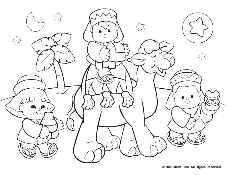 792x612 Christmas Coloring Pages Jesus Coloring Pages Religious Jesus