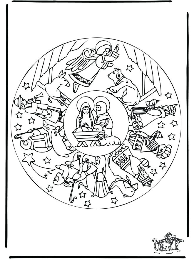 660x880 Christmas Coloring Pages Nativity Nativity Coloring Page Images