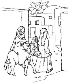 236x290 Christmas Story Bible Coloring Pages Christmas Story Bible