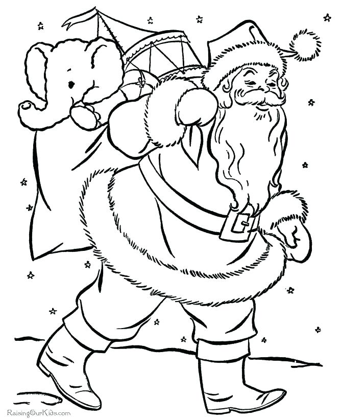 670x820 Coloring Pages Christmas Coloring Pages For Kids Printable