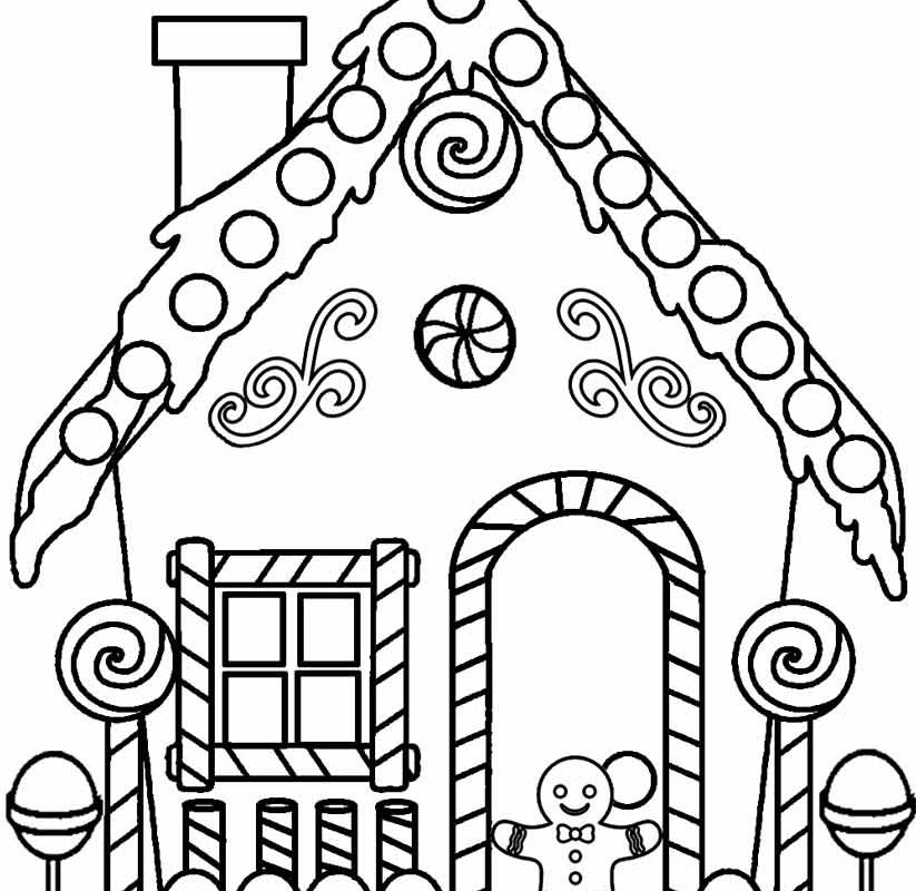 823x800 Magnificent Coloring Pages Gingerbread Man Maxresdefault For Kids