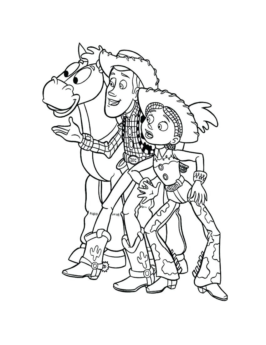 850x1100 Printable Toy Story Christmas Coloring Pages Free And Sheets